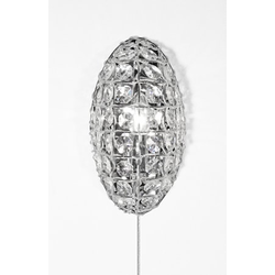 Globen Lighting Wandlampe Ilona durchsichtig