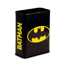 LOGOSHIRT Spardose mit Batman-Logo schwarz