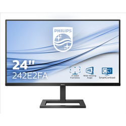 PHILIPS MONITOR 23,8 LED IPS 16:9 1MS 75HZ, VGA/DP/HDMI, MULTIMEDIALE