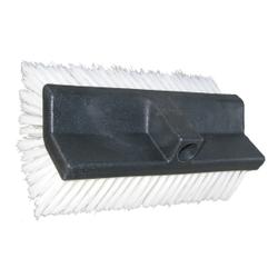 De Witte DUO Bürste, mittelhart, Waschbürste mit mehr als 50.000 mittelharten Haaren, Länge: 25 cm