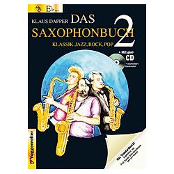 Das Saxophonbuch: Tl.2 Version Eb (Altsaxophon)  m. Audio-CD - Buch