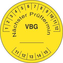 Panduit Prüfplakette PLD-VBG