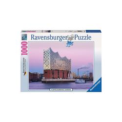 Ravensburger Puzzle Puzzle 1000 Teile Elbphilharmonie Hamburg, Puzzleteile
