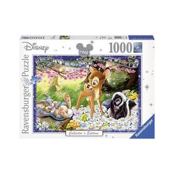 Ravensburger Puzzle Puzzle 1000 Teile, 70x50 cm, Walt Disney Bambi, Puzzleteile