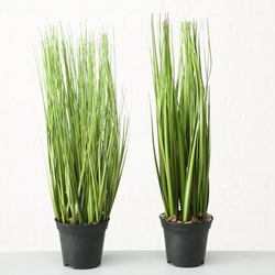 Kunstpflanze GRAS (H 54 cm)