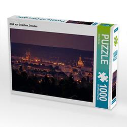 Blick von Dölzchen, Dresden Lege-Größe 64 x 48 cm Foto-Puzzle Bild von Stefan Becker Puzzle