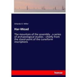 Har-Moad als Buch von Orlando D. Miller