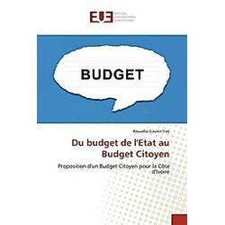 Du budget de l'Etat au Budget Citoyen. Kouadio Gauvin Yao  - Buch