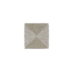 BUTLERS Glasuntersetzer SHINE ON Untersetzer mit Glasperlen 10x10cm