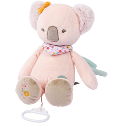 Nattou Spieluhr Iris der Koala rosa Kinder Spieluhren Baby Kleinkind