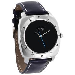 Xlyne Pro Smartwatch X-Watch Nara XW Silver Android IOS navy blue