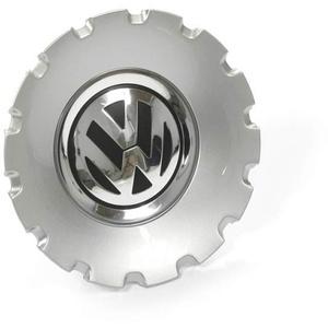 Volkswagen 3C0601149ATJY Radkappe (1 Stück) Nabenabdeckung 17 Zoll Nabenkappe Radzierkappe brillantsilber, für Macau Aluminiumfelgen
