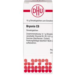 BRYONIA C 6 Globuli 10 g