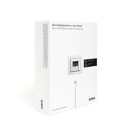 Gira Verkaufspaket USB Spannungsvers. 2401000