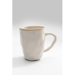 Tasse ORGANIC weiß(D 11 cm) KARE DESIGN