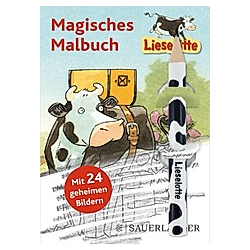 Lieselotte Magisches Malbuch  m. Bleistift