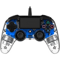 NACON PS4 Compact Controller Illuminated transparent / blau