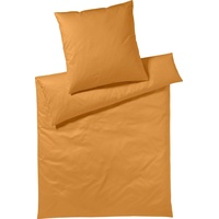 Yes for Bed Pure & Simple Uni orange (155x220+80x80cm)