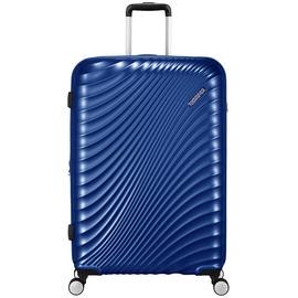 American Tourister Jetglam 4-Rollen 77 cm / 97-109 l metallic blue