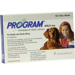 Program Tabletten für Hunde 409.8mg 20kg - 40kg vet.