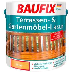 Baufix Holzschutzlasur Lärche, 2,5 Liter, natur