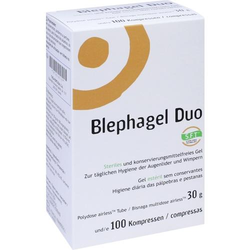 BLEPHAGEL Duo 30 g+Pads 1 P