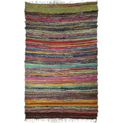 Teppich Leichter Flickenteppich, Flickendecke 100*160.., Guru-Shop, Höhe 160 mm 100 cm x 160 mm