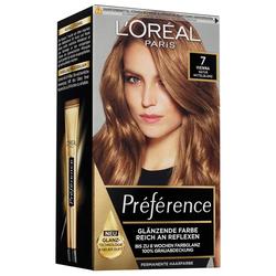 L´Oréal Paris Nr. 7 - Naturmittelblond Préférence Haarfarbe
