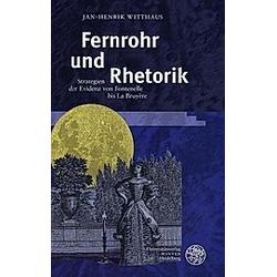 Fernrohr und Rhetorik. Jan-Henrik Witthaus  - Buch