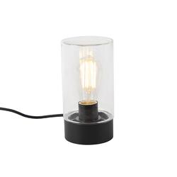 Moderne Outdoor Tischlampe schwarz IP44 - Jarra