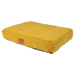 D&D Hundekissen Retro Eve gelb, Maße: 70 x 50 x 15 cm