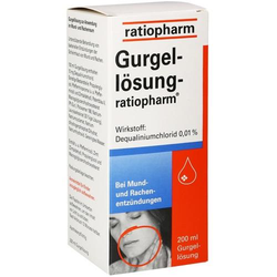 GURGELLÖSUNG-ratiopharm 200 ml