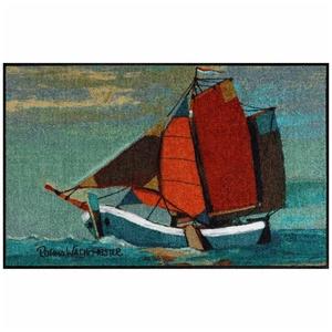 Fußmatte Rosina Wachtmeister Fußmatte waschbar Sail Away 50x75 cm SLD1313-050x075, Salonloewe