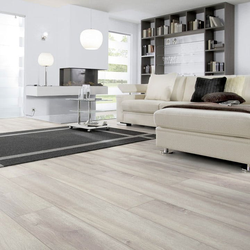 planeo Laminat medium Grey Oak - modernes Laminat in Eichenoptik