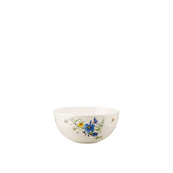 Rosenthal Schüssel Brillance Fleurs des Alpes Schüssel 18 cm, Porzellan, (1-tlg)