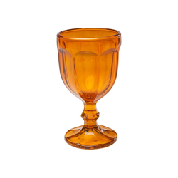 KARE Weinglas Weinglas Goblet Orange, Glas