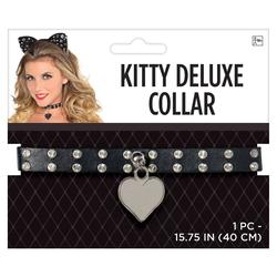 Halloween Adult Collar Fancy Kitty Deluxe Accessories Halloween Costume, Adult Unisex
