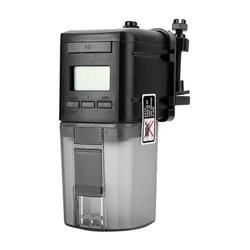 kueatily Intervall-Timer Automatischer Fischfutterautomat, Aquarienfutterautomat, digitale LCD-Lebensmittelversorgung, Fütterungs-Timer für Aquarium