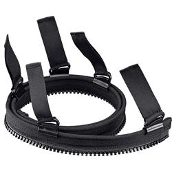 Held Adapter, Verbindungs-reißverschluss - Schwarz - 64 cm