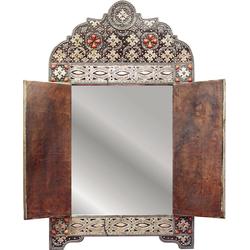 Dekospiegel »Orientalisch«, Spiegel, 18947227-0 braun (B/H/T): 40/49/0,3 cm braun