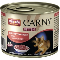 Animonda Carny Kitten Rind & Putenherzen 6 x 200 g