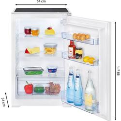 BOMANN Einbaukühlschrank VSE 7804, 88 cm hoch, 54 cm breit