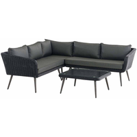 Clp Skara Lounge-Set schwarz/anthrazit