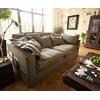 DeLife DELIFE Big Sofa Noelia 240x145 cm mit Kissen Hussensofa Design Sofa braun