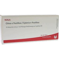 CITRUS E FRUCTIBUS/Cydonia e fructibus Ampullen 10X1 ml