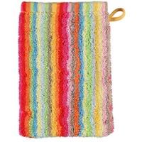 Life Style Streifen 7008 Waschhandschuh 16 x 22 cm multicolor