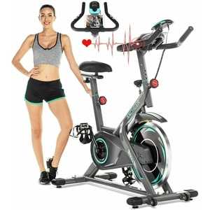 Speedbike Heimtrainer Ergometer Hometrainer Indoor Cycling Fahrrad Fitness 150kg