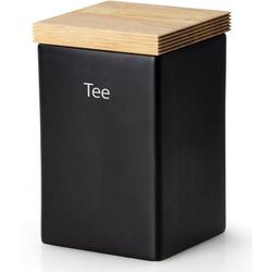 Continenta Teedose, Keramik, Holz, (1-tlg), Teedose
