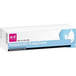 TERBINAFIN AbZ 10 mg/g Creme 30 g