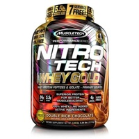 Muscletech NitroTech Whey Gold 2500g Schokolade,